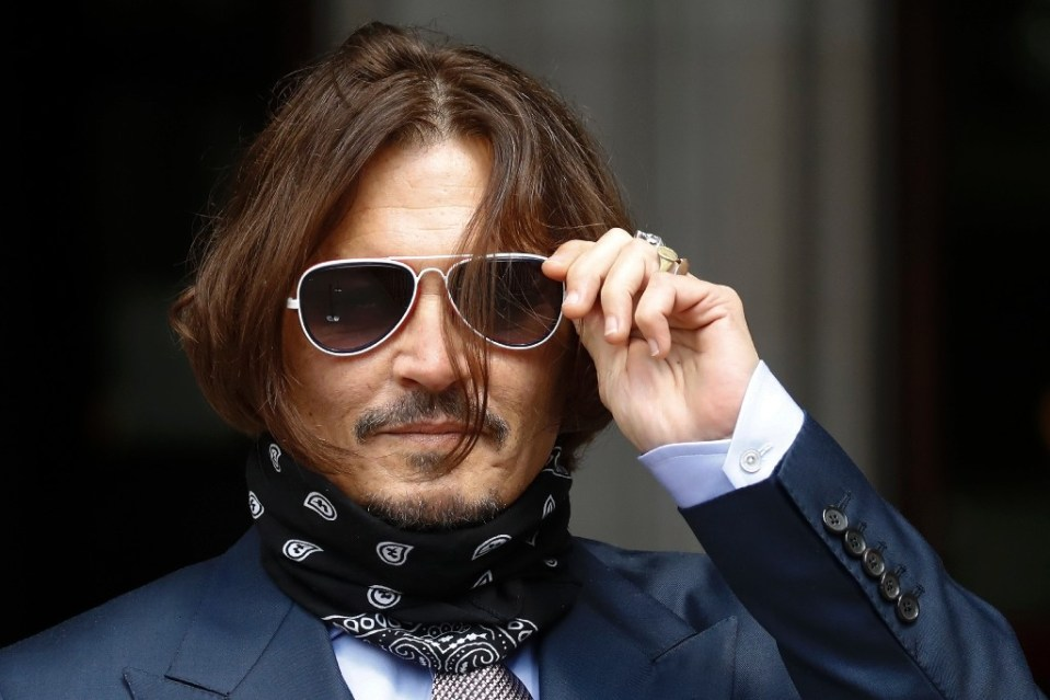 US star Johnny Depp had sued The Sun over claims he was violent to ex-wife Amber Heard during their volatile two-year marriage - Tolga AKMEN / ©AFP