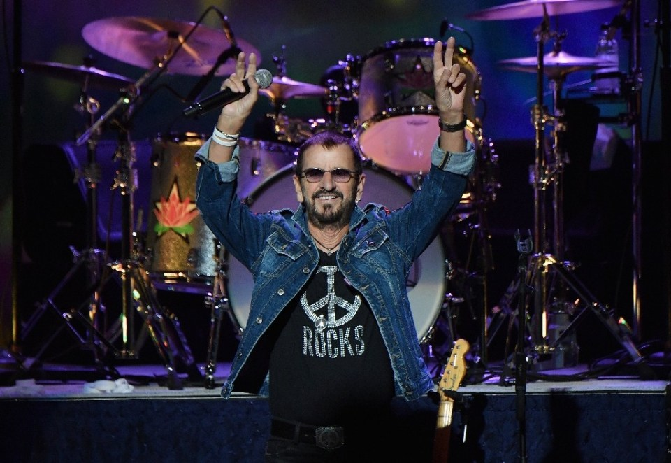 Ringo Starr, shown here performing at the 50th anniversary celebration of Woodstock in upstate New York in 2019, saw his packed touring schedule grounded by the pandemic - Angela Weiss / ©AFP