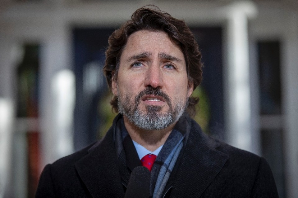 Canadian Prime Minister Justin Trudeau tells a news conference after speaking with Pfizer CEO Albert Bourla that deliveries of its Covid-19 vaccine would be stepped up in March after a shortfall in February - Lars Hagberg / ©AFP