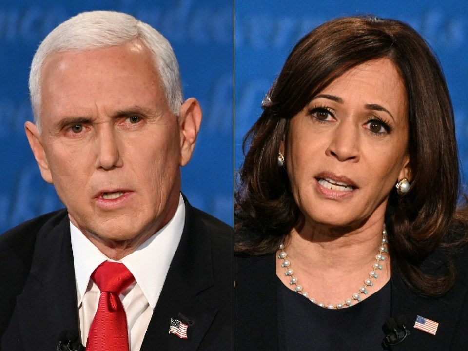 US Vice President Mike Pence and his successor Kamala Harris have spoken by phone, a source told AFP - Eric BARADAT, Robyn Beck / ©AFP