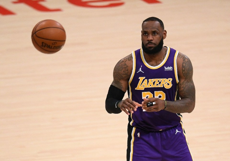 Los Angeles Lakers star LeBron James will miss Wednesday's game at Sacramento with a left ankle sprain, the reigning NBA champions said, but he is expected to play in Sunday's NBA All-Star Game - Harry How / ©AFP