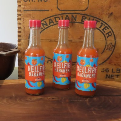hellfire habanero sauce bottles-bpf002