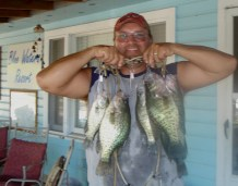 Crappie Fishing on Bull Shoals