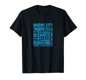 marine city amazone tee shirt