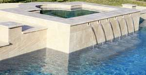 Bue Wave Water Feature