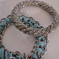 DIY. Chain bracelet.