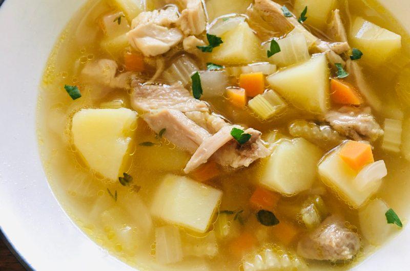 チキンベジタブルスープ