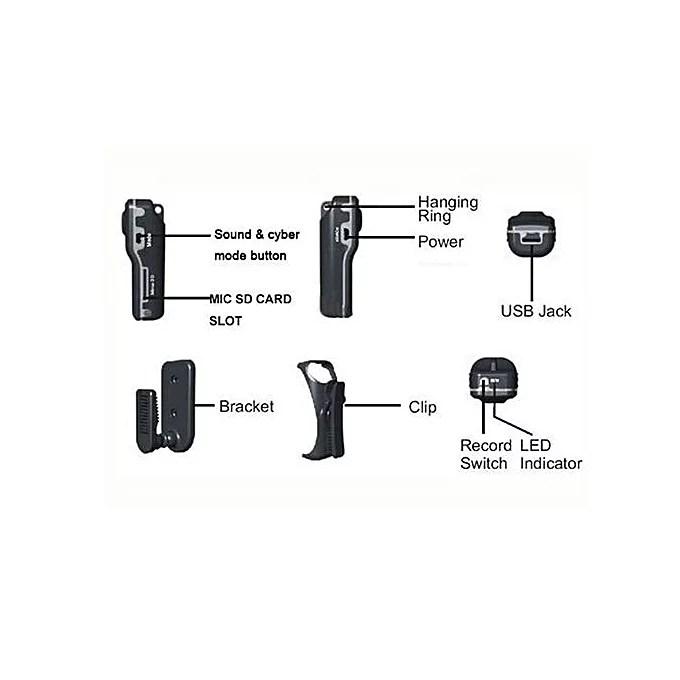 Mini DV MD80 2MP Micro Hidden Camera Video Camera