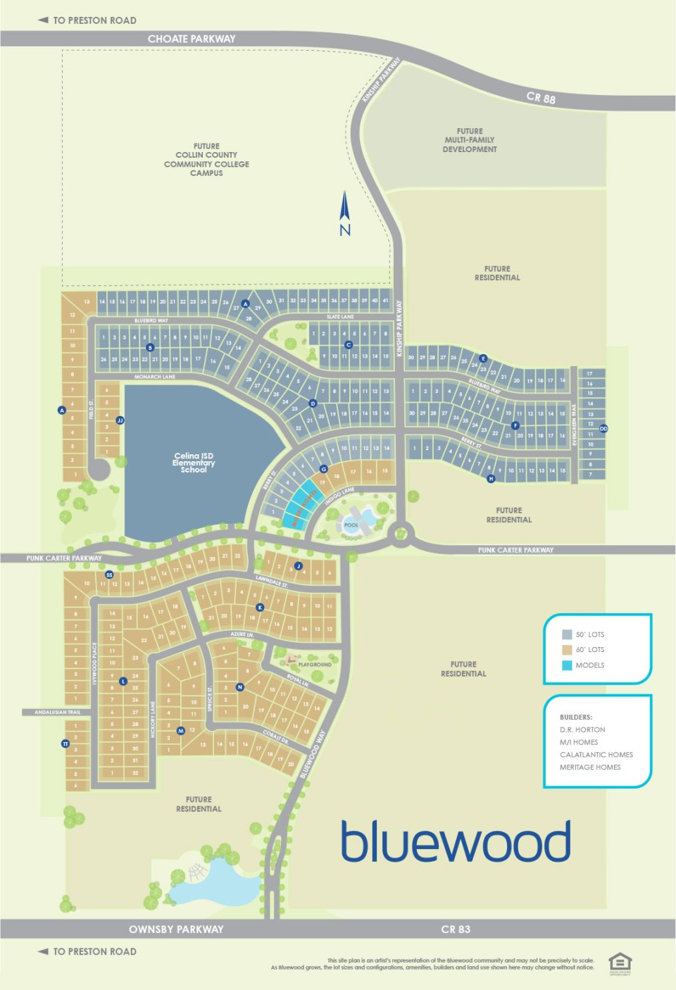 Community Bluewood By Hillwood Communities