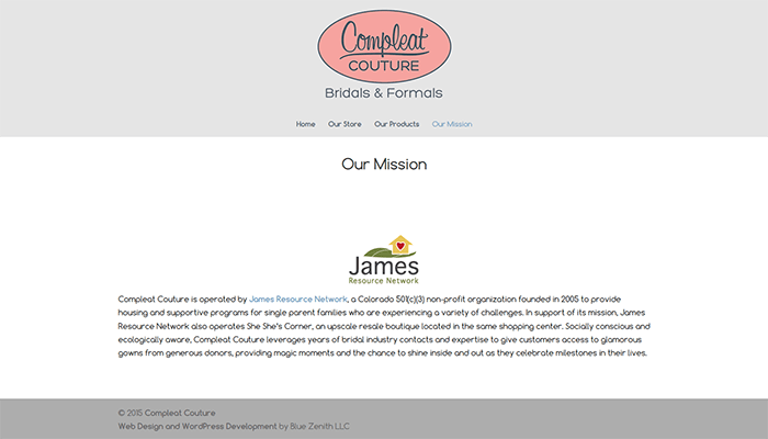 Compleat Couture and James Resource Network