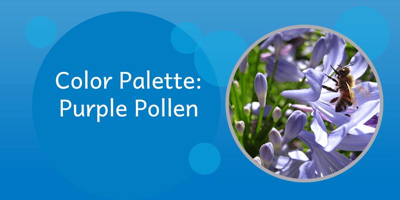 Color Palette: Purple Pollen