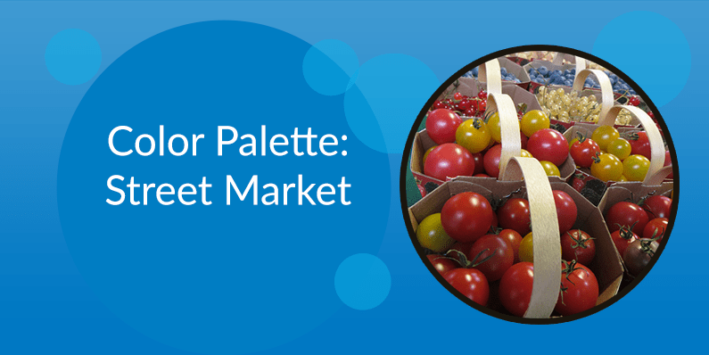 Color Palette: Street Market