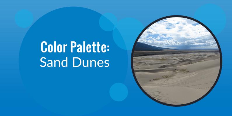 Color Palette: Sand Dunes