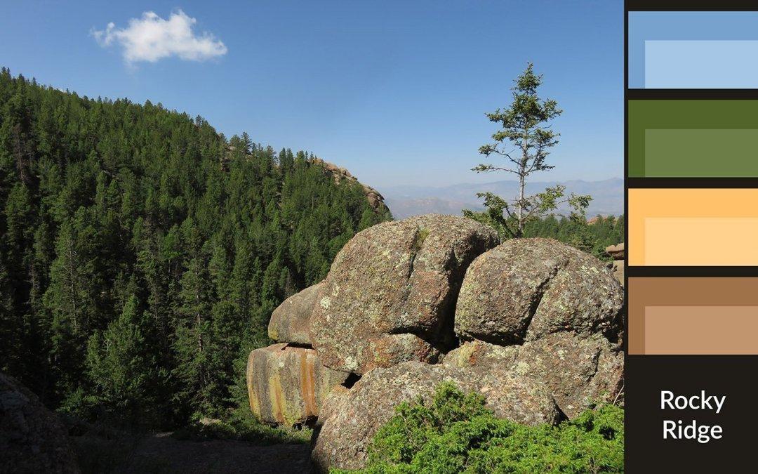 Color Palette: Rocky Ridge