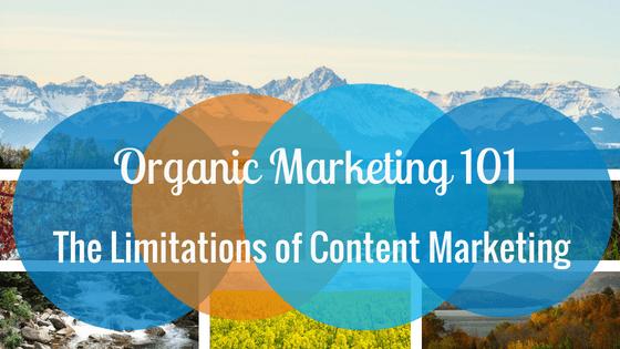 Organic Marketing 101 & The Limitations of Content Marketing