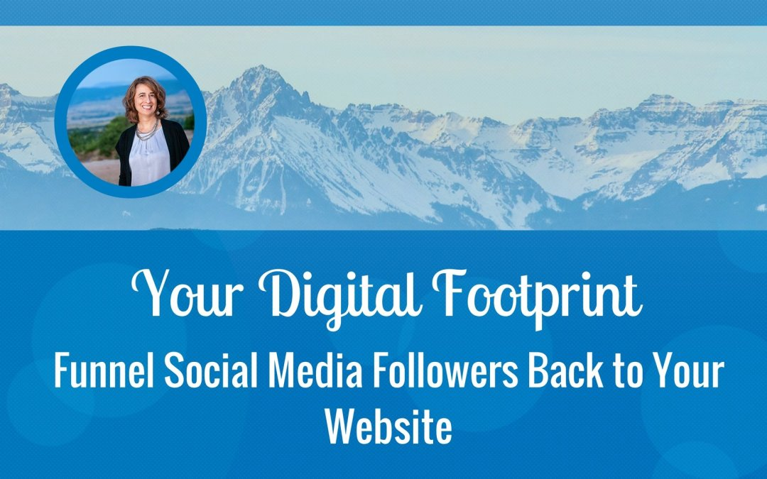 Funnel Social Media Followers Back to Your Website