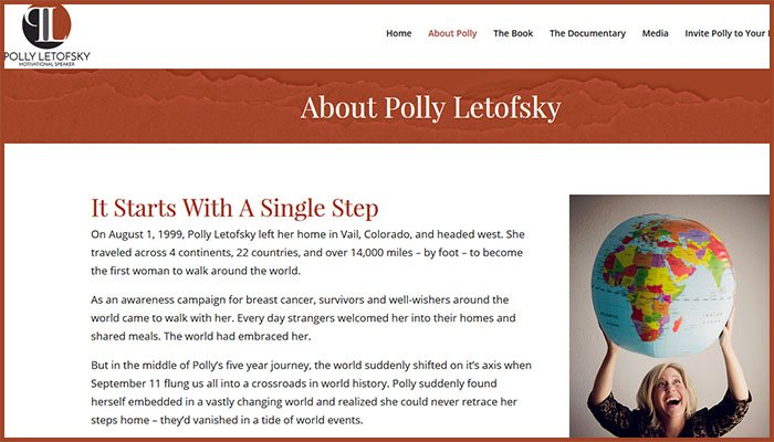 Polly Letofsky Website