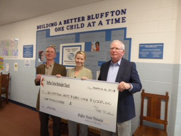 BUMM donation to the Boys and Girls Club of Bluffton