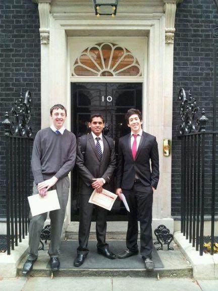 In 10 Downing Street, the U.K.