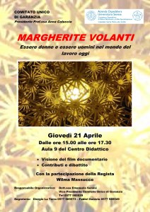 margherite volanti all'Università di Siena