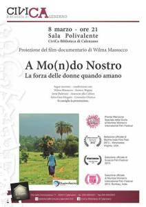 Locandina AMOndoNostro Calenzano 8marzo2016