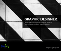 Were looking for a freelance graphic designer
