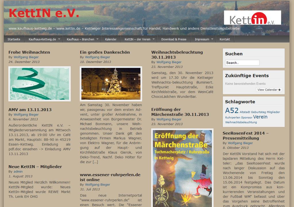 KettIN e.V. Interessengemeinschaft für Handel, Handwerk und Dienstleistungsbetriebe