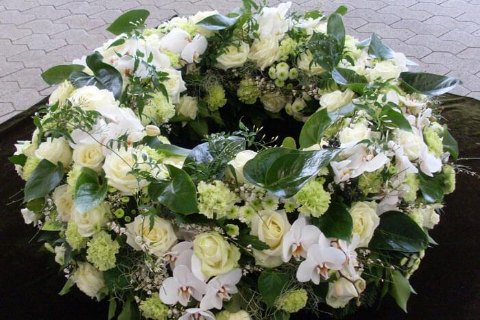 Trauerfloristik  Blumen Kefer