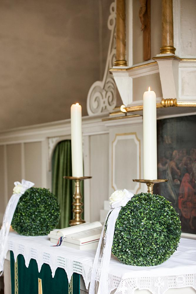 Hochzeitsfloristik  Blumen Landfeld