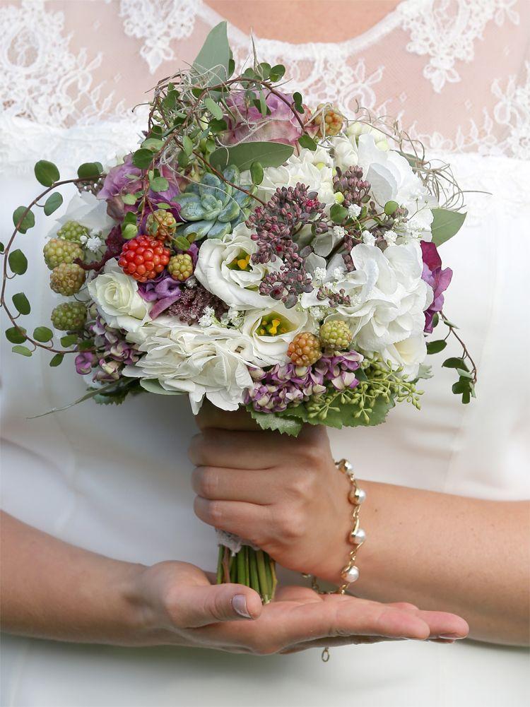 Brautstrauss Blumenstil Blumen Hochzeit Dekoration