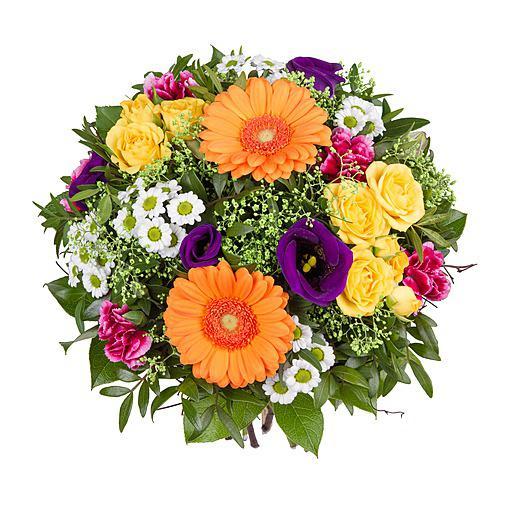 Bunte Blumen Strue online  Blumen zum Geburtstag  Blumen online bestellen  bundesweit