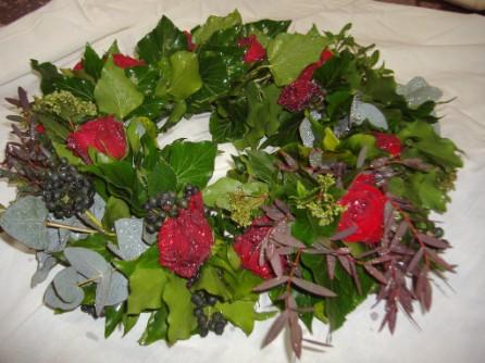 Blumenkranz  blumenkranzblumengesteck