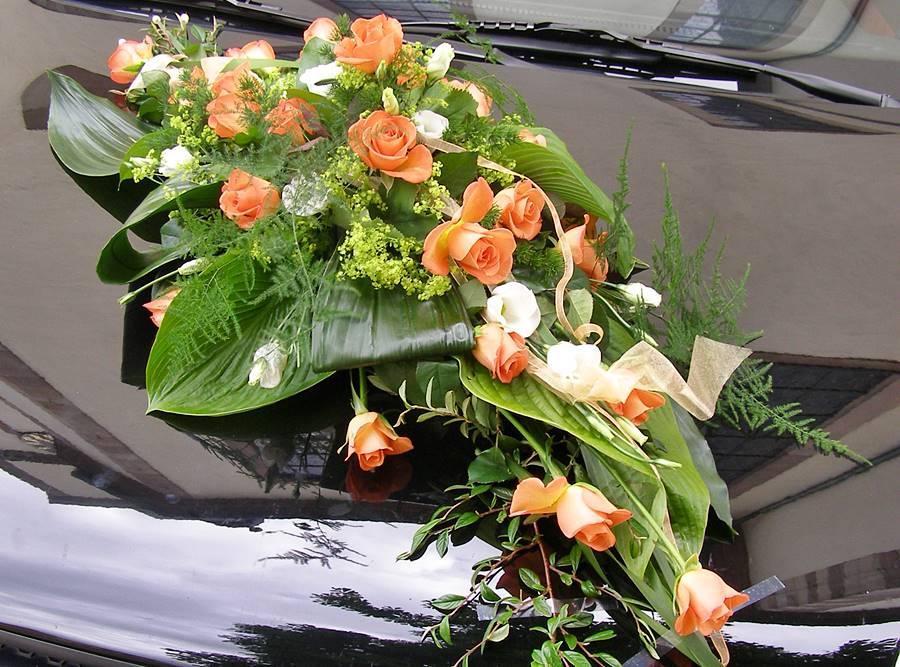 Autoschmuck  Autodeko fr die Hochzeit  Kreative Ideen aus Gersfeld