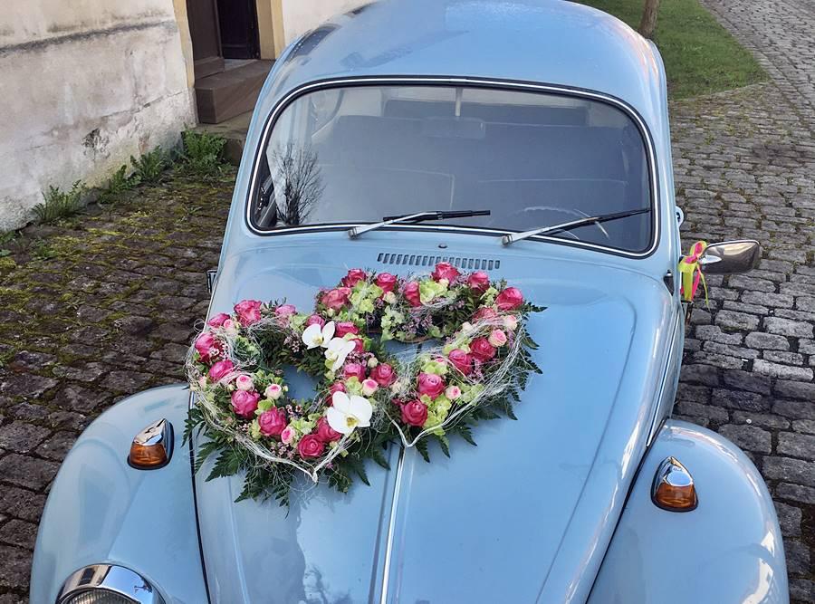 Autoschmuck  Autodeko fr die Hochzeit  Kreative Ideen
