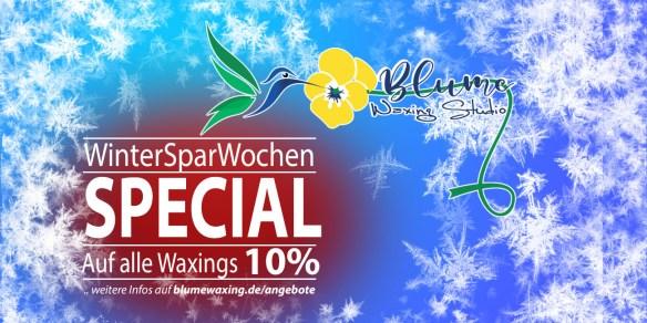 """Angebote & Specials im BLUME Waxing Studio """"WinterSparWochen"""""""