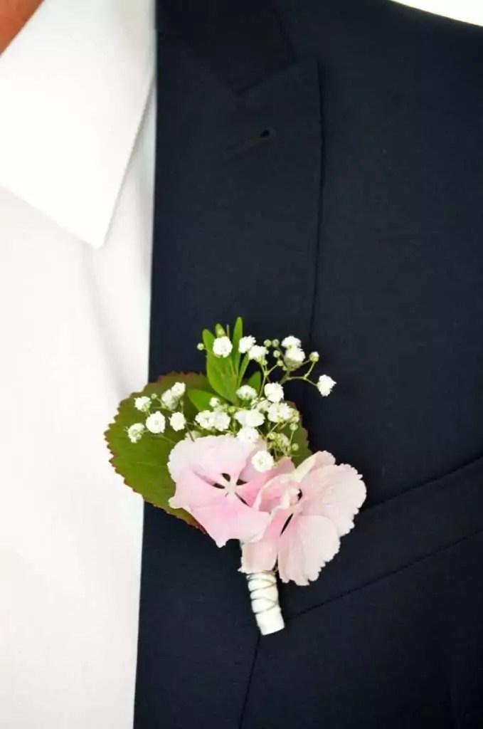 Anstecker fr den Brutigam selber machen  ein Hochzeits