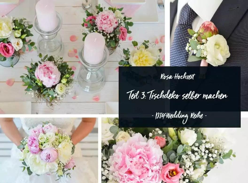 Tischdeko Hochzeit Rosa Grun Ein Weiterer Brautstrauss Im Schonen