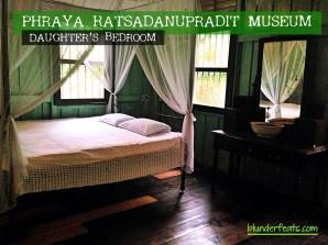 Phraya Ratsadanupradit Museum - Bedroom