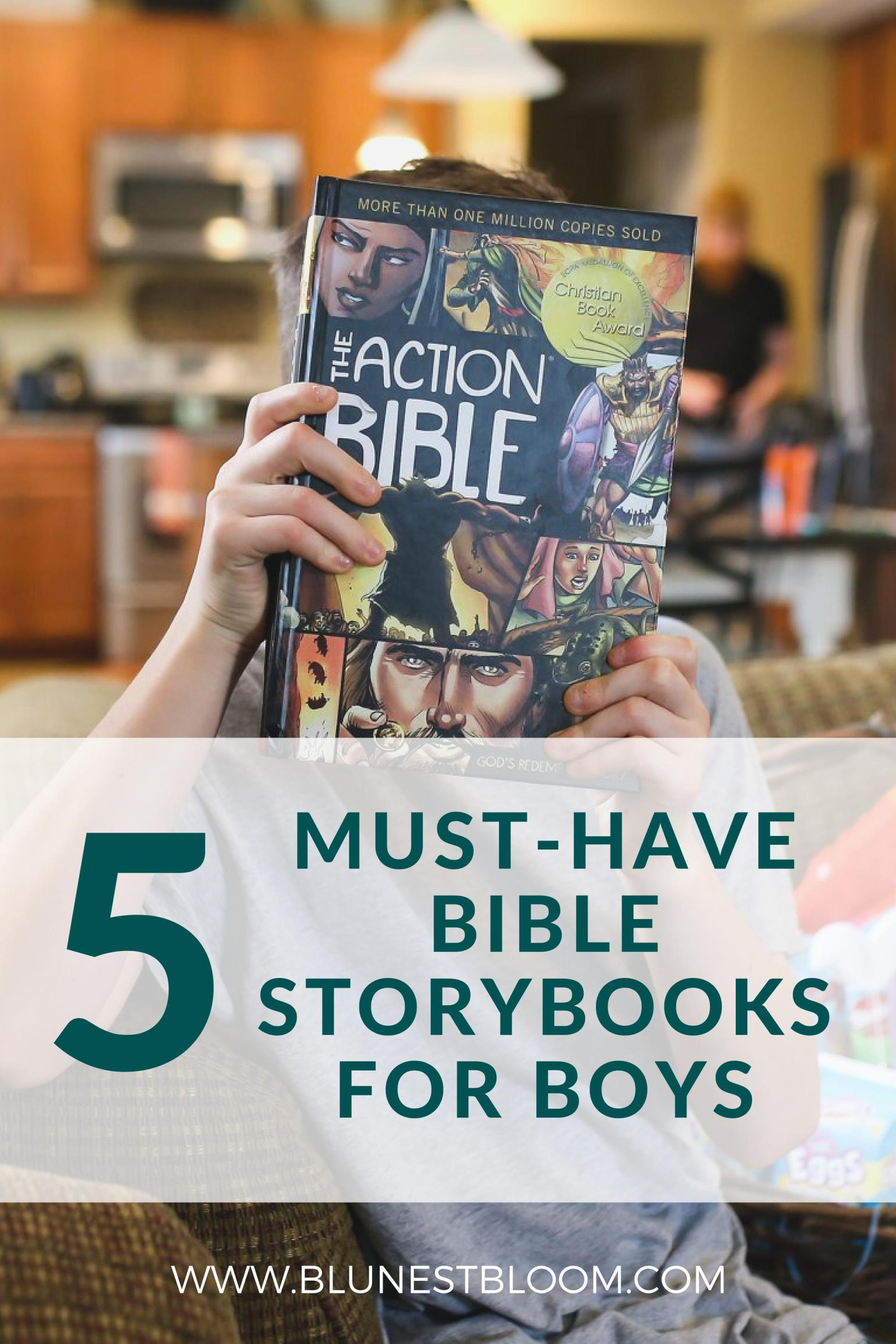 5 Must Have Bibles For Boys