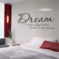 Bedroom Wall Stickers : Blunt.One, Affordable bespoke ...