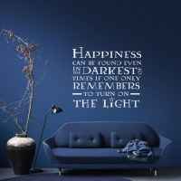 Happiness Can Be Found Harry Potter Quote Vinyl Wall Art ...