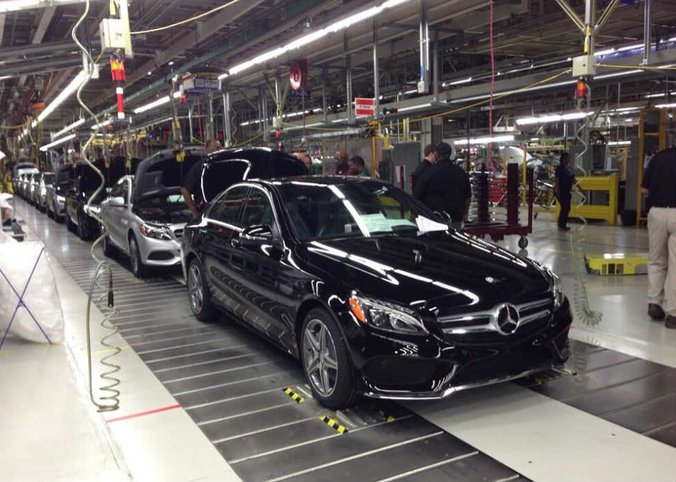 Blunt force truth mercedes benz drops foreign construction for Mercedes benz tuscaloosa