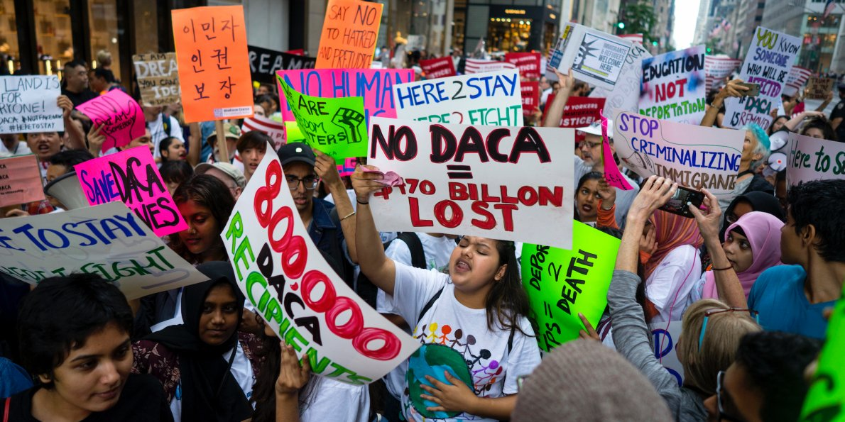 Image result for DREAMers Threaten To LEAVE U.S. If Congress Doesn't Do It!