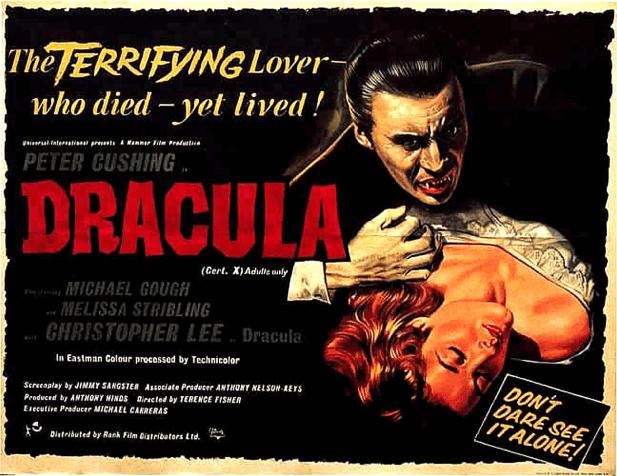 dracula 1958 poster