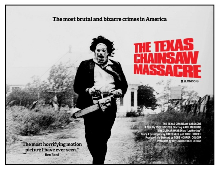 Texas Chainsaw Massacre uk poster