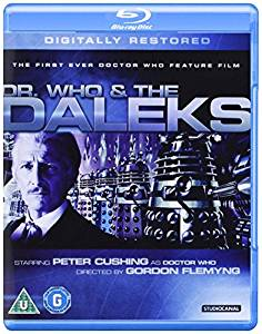 dr who and the daleks blu ray