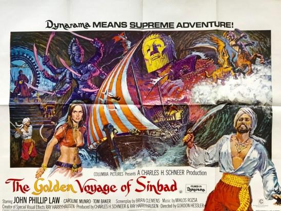 golden voyage of sinbad poster