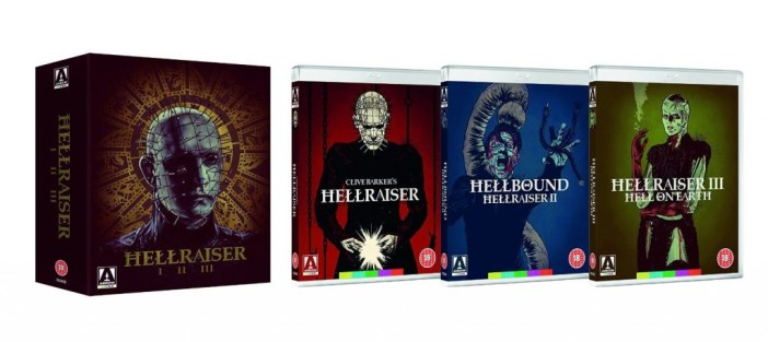hellraiser trilogy blu ray review