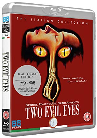 two evil eyes blu ray