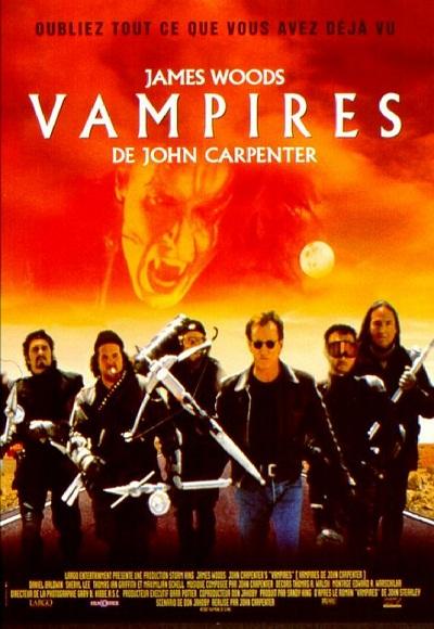 james woods in vampires poster
